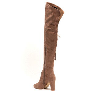 Lady Couture Broadway Taupe Knee-length Boots