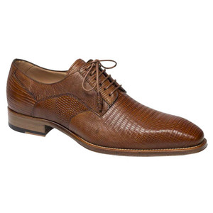 Mezlan Pegaso Honey Lizard Skin Exotic Oxfords
