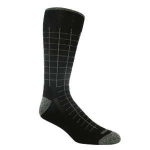 Remo Tulliani Navajo Black & Grey Patterned Socks