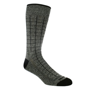 Remo Tulliani Navajo Charcoal & Black Patterned Socks