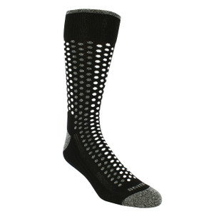 Remo Tulliani Iroquois Black & Multi Dress Socks