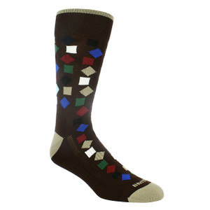 Remo Tulliani Gelding Brown & Multi Patterned Socks