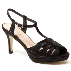 Lady Couture Midnight Black Heels