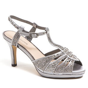 Lady Couture Midnight Pewter Heels