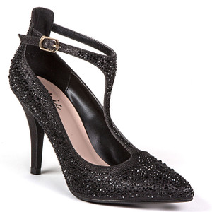 Chic by Lady Couture Party Black Heels