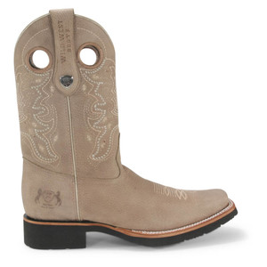 Wild West Rodeo Phomex Grisly Leather Pull-up Boots