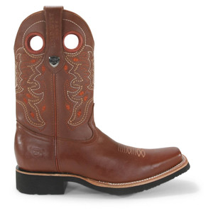 Wild West Rodeo Cognac Leather Pull-up Boots