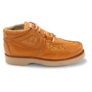 Los Altos Buttercup Caiman Belly & Ostrich Casual Shoes