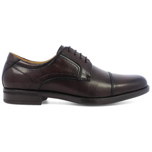 Florsheim Midtown Brown Leather Cap Toe Oxfords