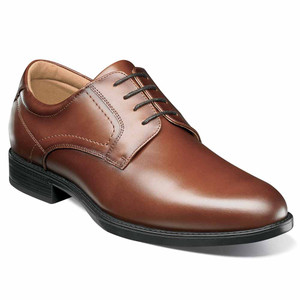 Florsheim Midtown Waterproof Cognac Oxford Shoes