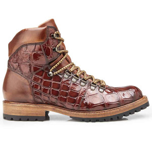 Belvedere Damian in Peanut Genuine Alligator Men's Boot