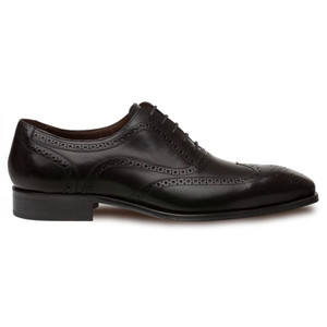 Mezlan Ugalde Genuine Calfskin Black Wing Tip Men's Oxford Shoes