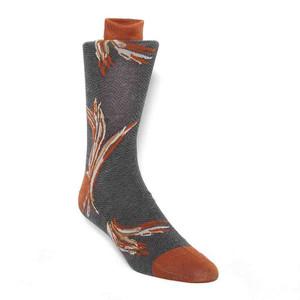 Tallia Melon Floral Pattern Men's Socks