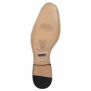 Lombardy Black Lizard Men's Slip On Shoes