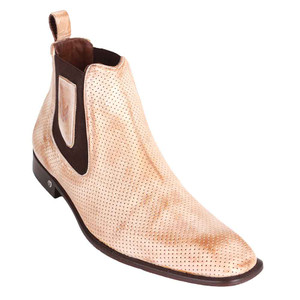 Vestigium Honey Janrry Leather Men's Chelsea Boots