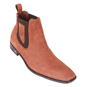 Vestigium Cedron Suede Leather Men's Chelsea Boots