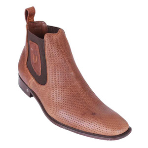 Vestigium Honey Leather Men's Chelsea Boots