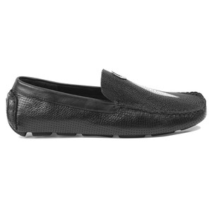 Vestigium Single Stone Genuine Stingray Driving Men's Loafers