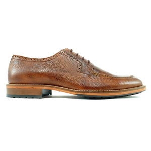 Alan Payne Wimbley Antique Honey Deerskin Oxfords