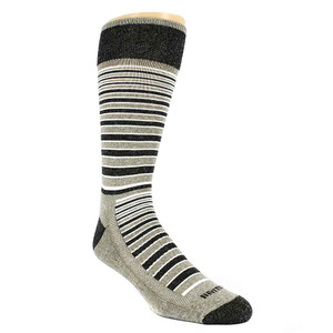 Remo Tulliani Martee Horizontal Stripes Bone & Multi Men's Socks