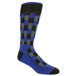 Remo Tulliani Fox Brick Pattern Blue & Multi Men's Socks