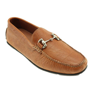 T.B. Phelps Cassity Tan Genuine American Bison Leather Men's Driver