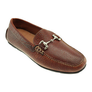 T.B. Phelps Cassity Walnut Genuine American Bison Leather Men's Driver