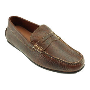 T.B. Phelps Sundance Briar American Bison Leather Men's Penny Loafer