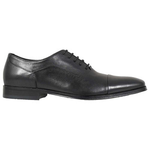 Florsheim Jetson Black Genuine Leather Men's Cap Toe Lace Up Oxford