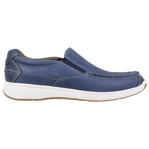 Florsheim Great Lakes Indigo Genuine Smooth Leather Men's Moc Toe Slip On