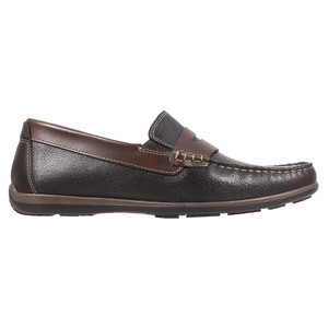 Florsheim Interpid Black Multi Genuine Leather Men's Moc Toe Penny Driver