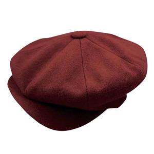 Dobbs Burgundy Big Apple Style Wool Cap