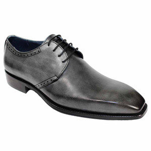 Duca Sora Grey Chisel Toe Men's Derby Shoe