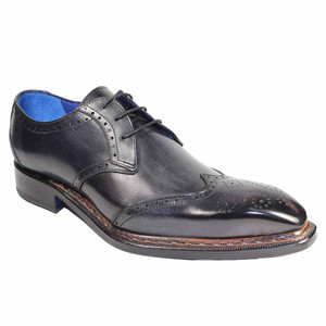 Emilio Franco Adamo Dark Gray Wingtip Derby Shoes