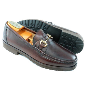 Alan Payne Whitaker Brown  Soft Sheepskin Men's Loafers