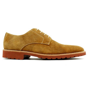 Alan Payne Buck Mushroom Suede Men's Lace-Up Shoes
