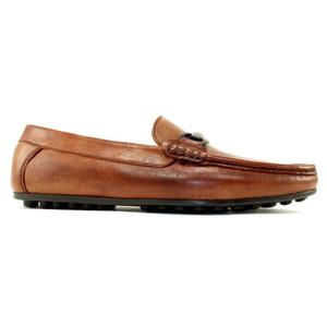 Alan Payne Garda Chili Apron Toe Men's Slip-On Loafers