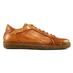 Alan Payne Mystic Tan Men's Leather Sneakers