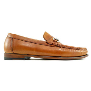 Alan Payne Snaffle British Tan Men's Slip-On Loafers