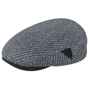 Dobbs Fall 2019 Sheffield Black-White Men's Flat Cap