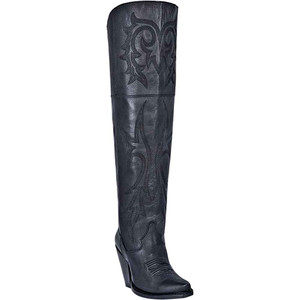 Dan Post Jilted Inside Zipper Snip Toe Women's Genuine Leather Boots