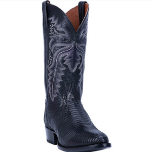 Dan Post Black Winston Lizard Men's Boot