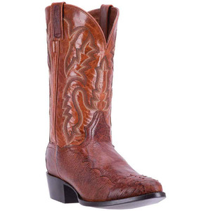 Dan Post Pugh Cognac Smooth Ostrich Men's Boot