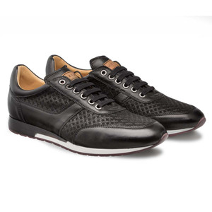 Mezlan Maxim in Black Dress Sneaker Men's Shoes
