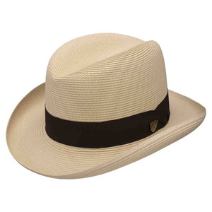 Dobbs El Dorado Straw Sand Firm Finish Men's Hat