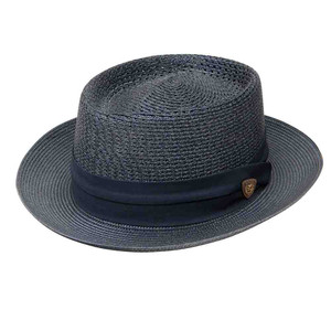 Dobbs Bishop Navy Firm Finish Men's Hat