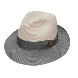 Dobbs Toledo Beige & Gray Firm Finish Men's Hat