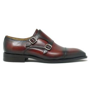 Carrucci Whisky Leather Double Monk Strap Men's Shoes
