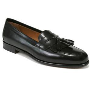 Mezlan Santander Black Slip-Ons