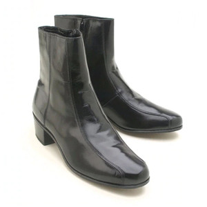 Florsheim Duke Black Kid Leather Boot